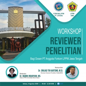 Workshop Reviewer Penelitian